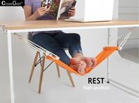 Adjustable Mini Desk Feet Hammock Feet Rest Pedal Foot Chair Care Tool Desk Portable Feet Hammock