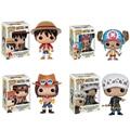 Funko Pop One Piece Рис Луффи Чоппер Ace Действие и Игрушки Фигурки Коллекция Игрушек
