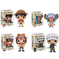 Funko Pop One Piece Figure Luffy Chopper Ace Action & Toy Figures Collection Toy