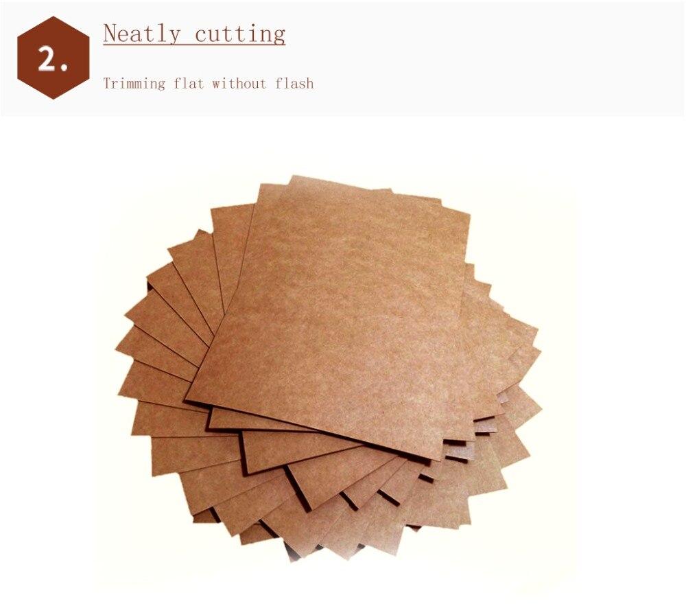 50 шт./лот, A5, A4, крафт-бумага, коричневая бумага для рукоделия, плотная доска, картонная бумага для самостоятельного изготовления карт, 80 г, 120 г, 150 г, 200 г, 250 г