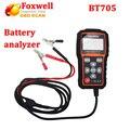 Оригинал Foxwell BT705 12 Вольтовой Батареи Анализатор Тестер Непосредственно Обнаружить Плохой Автомобиль Батарея Для Гаража Мастерской