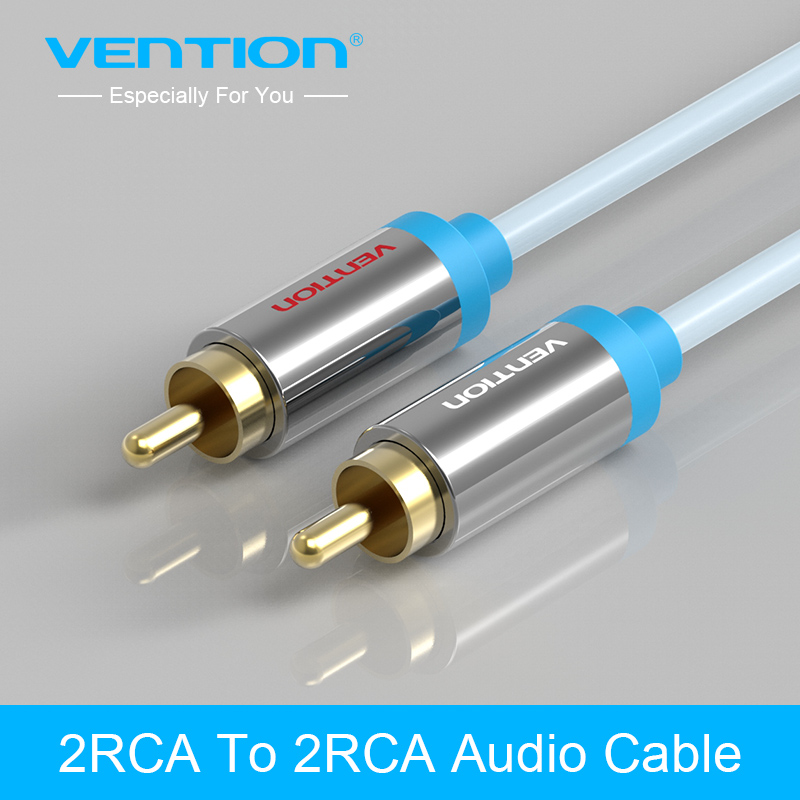 Vention Jack 2 RCA Audio Cable to 2 RCA Aux Cable for Edifer Home Theater DVD VCD iPhone Headphones