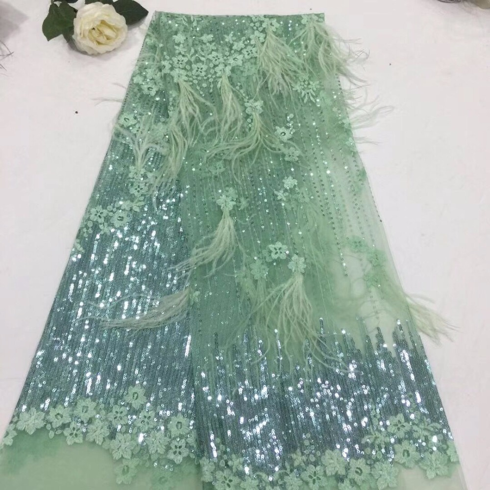 Hot Sale French Lace Fabric Good Looking J 61019 French