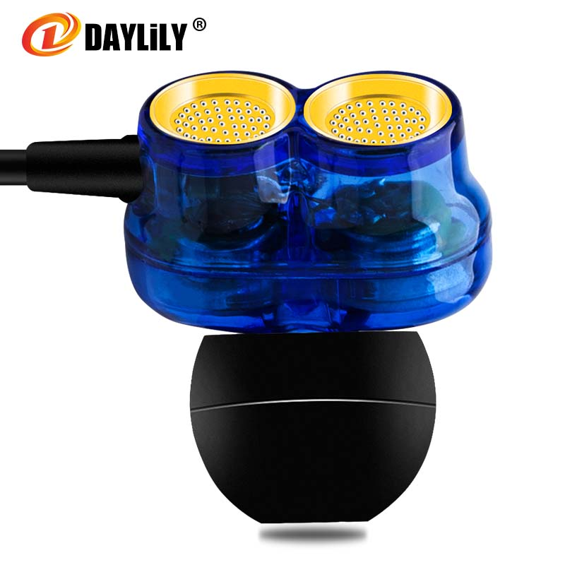 DAYLiLY Sport headphones mobile phone Earphones Shocked bass fone de ouvido Microphone music headset computer mp3 auriculares Dj