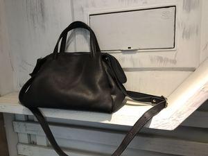 Image 2 - Vendange retro casual genuine leather women bag simple individuality handmade totes cross body bag 2538