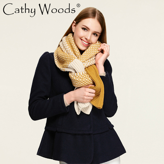 Winter Warm Neck Crochet Scarf New Elegant Acrylic Female Scarf Knitted Pashmina Women Wrap Scarves and Stoles Fulares Mujer