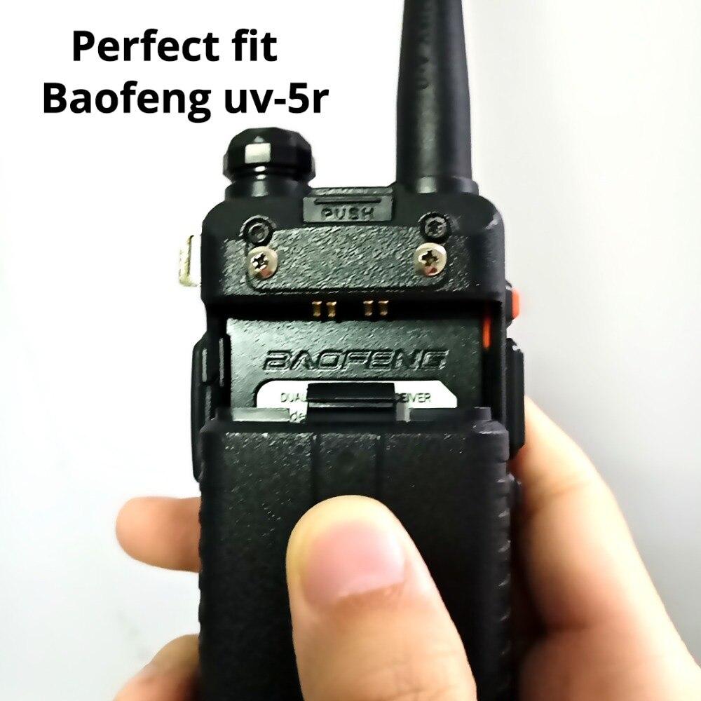 Image 5 - 5 個 Baofeng UV 5R バッテリーオリジナル UV 5R 5RE ラジオバックアップバッテリートランシーバー 1800  3000mah のリチウムイオン電池 BL 5 7.4 12V 充電式 -    グループ上の 携帯電話