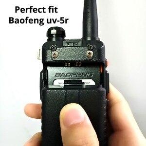 Image 5 - 5Pcs Baofeng UV 5R Batteria Originale UV 5R 5RE Radio di Sostegno Walkie Talkie Batteria 1800mah li ion Batterie BL 5 7.4V Ricaricabile