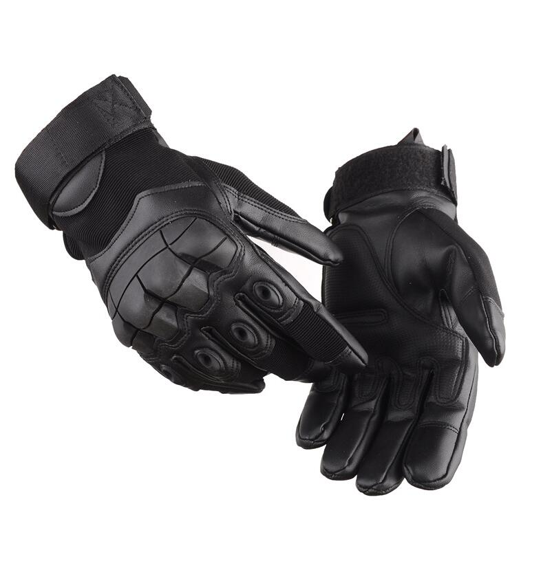 Men Gloves Winter Full finger Army Tactical Outdoor Gloves Military Combat Slip-resistant Paintball Shooting Leather Gloves