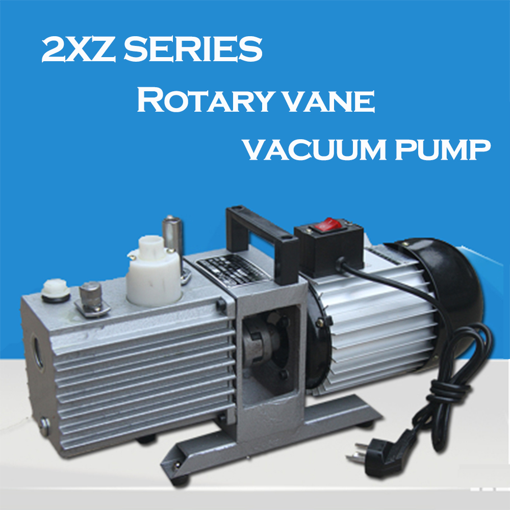 Factory Price 2XZ-2 220v 50hz 2L/S vane rotary vacuum pump medical mini vacuum pump made in China new products protable small mini electric vacuum pump price rotary vane vacuum pump