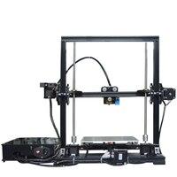 Алюминиевый профиль экструзии 3d Принтер Комплект принтер 3D печать sd карта ЖК экран пластиковое колесо с подшипниками автоматический регул