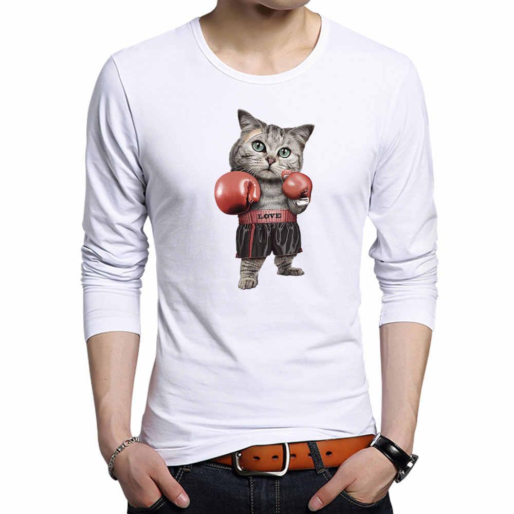 3D милые футболки с котами, мужское забавное мужское нижнее бельё, дизайнерская футболка с котом, Мужская модная крутая футболка, хипстерский принт, Летние повседневные хлопковые футболки