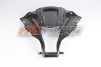 Front Head Middle Upper Nose Fairings Cover For Kawasaki ZX10R 2011 2012 2013 2014 2015 Full Carbon Fiber 100% Twill