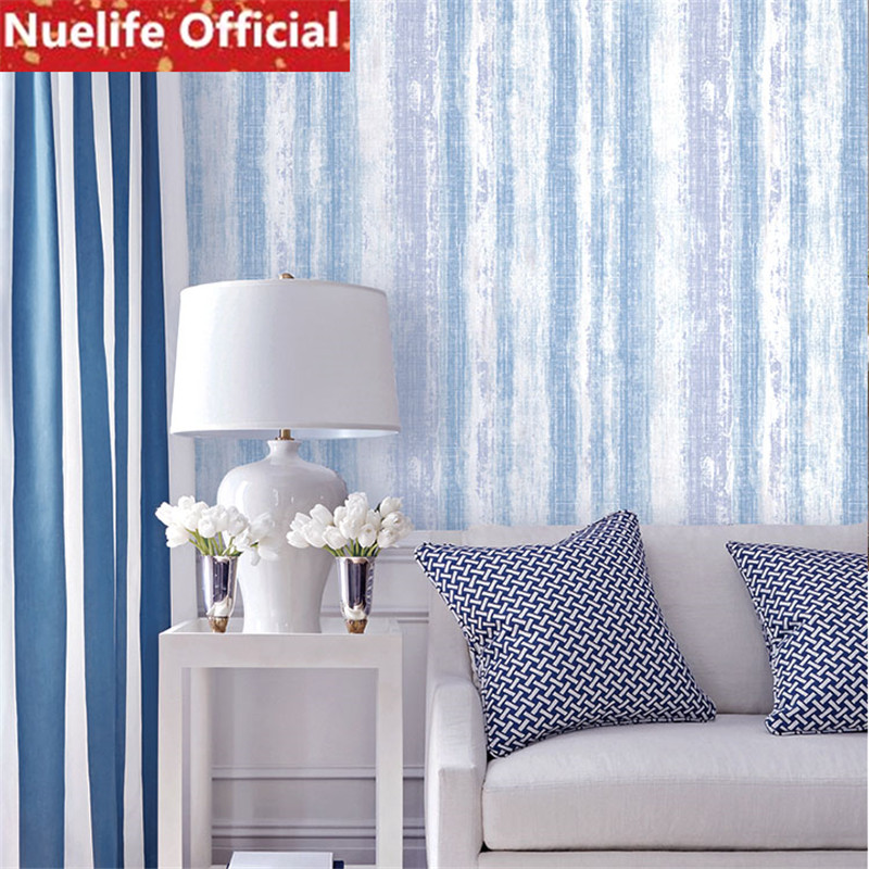 Genteel 0.53x10m Color Vertical Stripes Pattern Wallpaper Kids Room Wedding Room Study Bedroom Living Room Sofa Tv Background Wall Paper Delicacies Loved By All Home Improvement