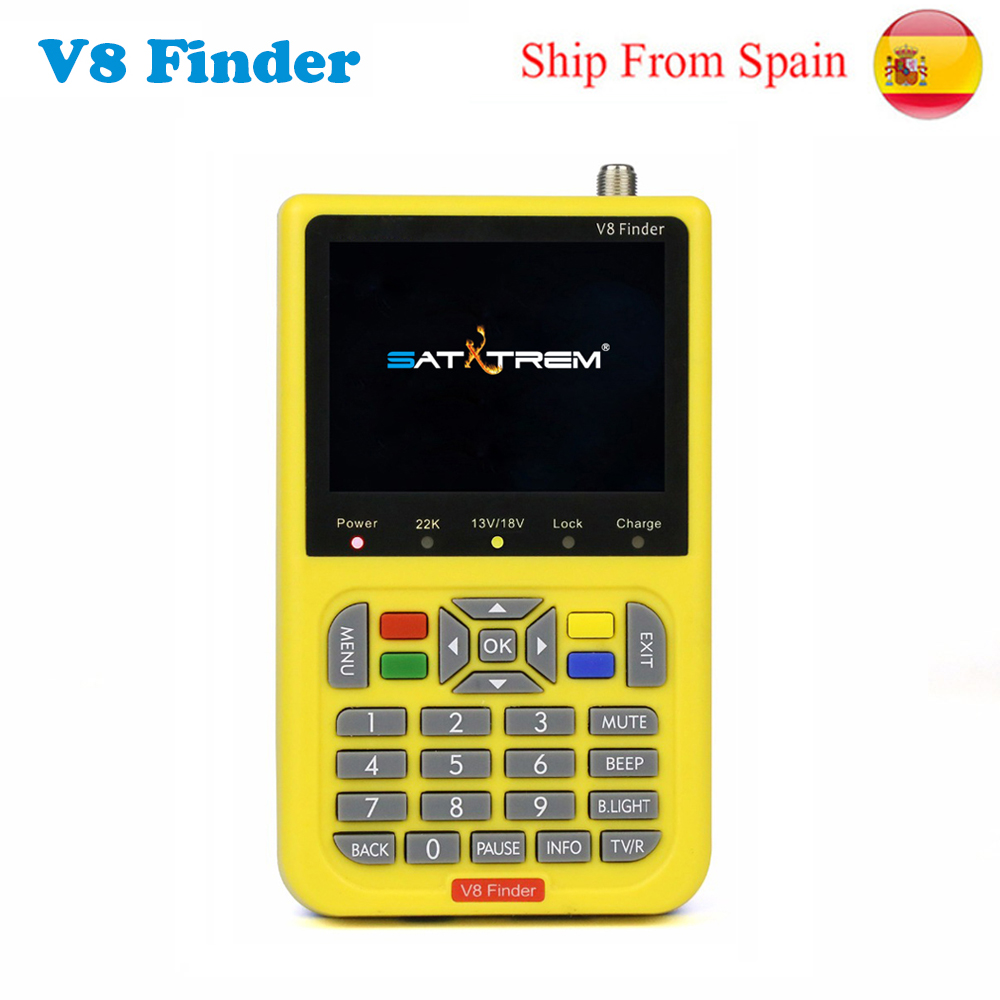 цена на V8 Finder HD DVB-S2 High Definition Satellite Finder MPEG-4 Full 1080P satellite Finder VS satlink ws-6933 satlink ws-6916