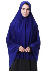Image 2 - Ropa Hijab árabe para rezar para mujer, gorro hiyab musulmán largo islámico, Abaya para pañuelo, funda completa para la cabeza, cuello, bufanda