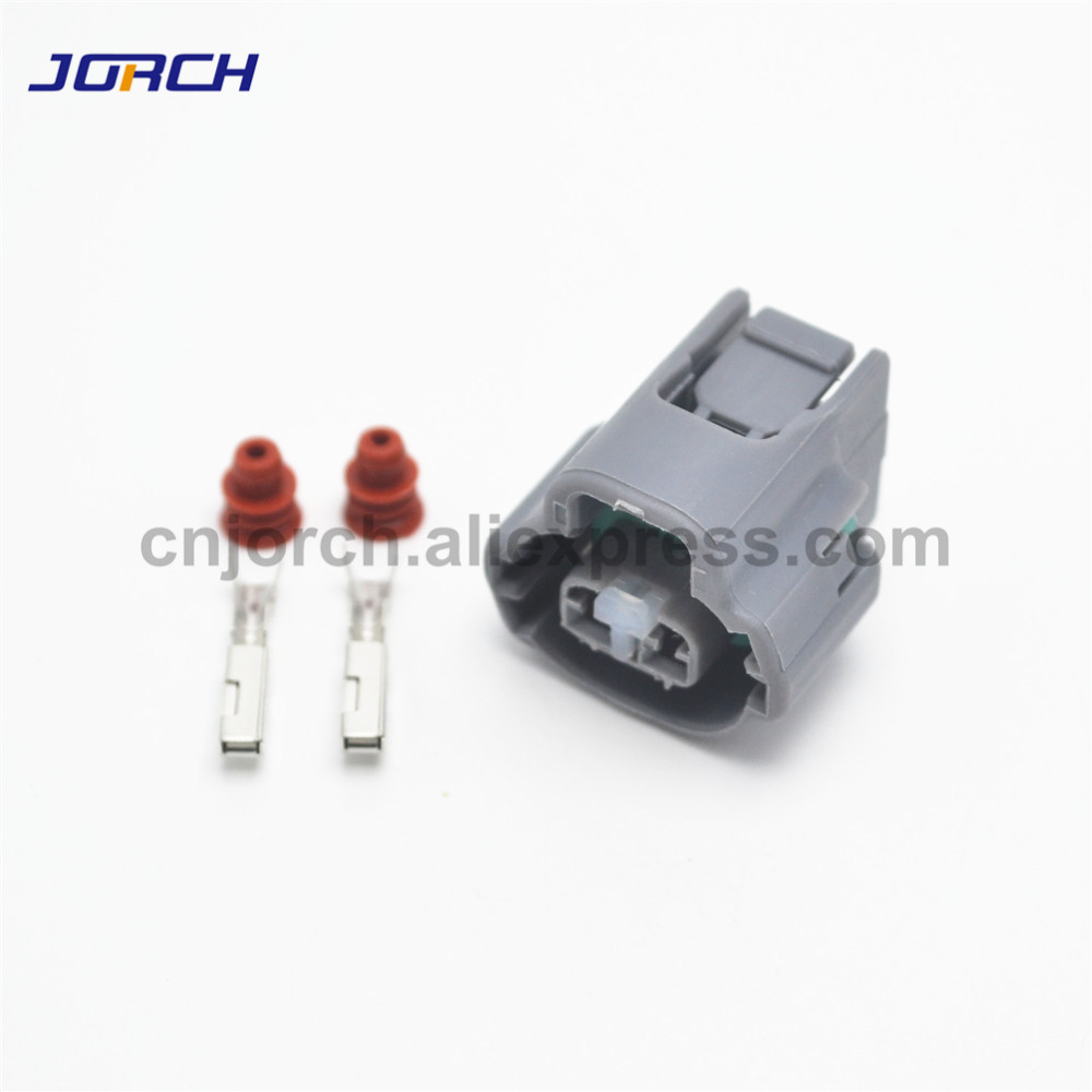 5 Sets 2pin Female Electrical Sensor Plug Automotive Wire  Housing Connector 7283-7526-40/90980-11162