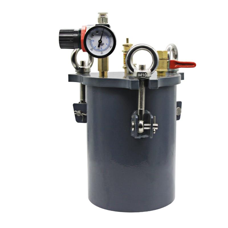Carbon steel Dispenser pressure tank fluid dispensing bucket 1/2/3/5/8/10/20/30/40/60L YCarbon steel Dispenser pressure tank fluid dispensing bucket 1/2/3/5/8/10/20/30/40/60L Y