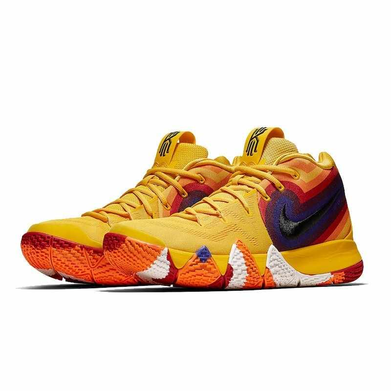 e350e93aa040 ... NIKE Kyrie 4 Original Mens Basketball Shoes Breathable Stability Anti-slip  Outdoor Sport Sneakers For ...