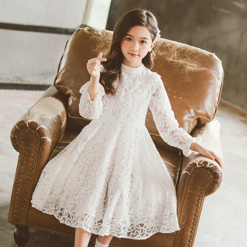 Elegant Kids Girls Princess Dress For girl Wedding Party Bridesmaid Dresses lace Children Girls Clothing Age 3 4 6 8 9 10 12Year