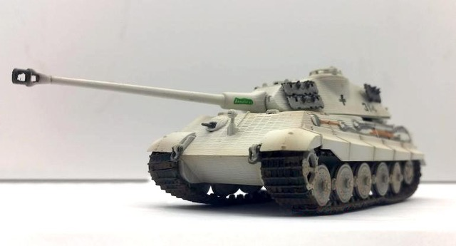 TRUMPETER 1:72 World War II German defense forces 503 heavy armor Battalion Tiger king heavy tank model 36299