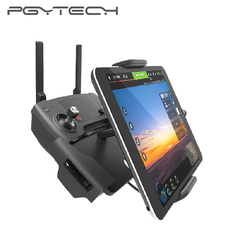 PGYTECH Tablet Mavic 2/Mavic Air/Mavic Pro Controller Holder DJI MAVIC 2 PRO/Zoom DJI Spark Remote Control Monitor Accessory 30cm otg data cable for dji spark mavic 2 pro zoom air mavic pro micro usb type c adapter connector phone tablet to controller