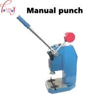 Handmatige bediening punch druk J03-0.6A kleine verticale handmatige punch persmachine