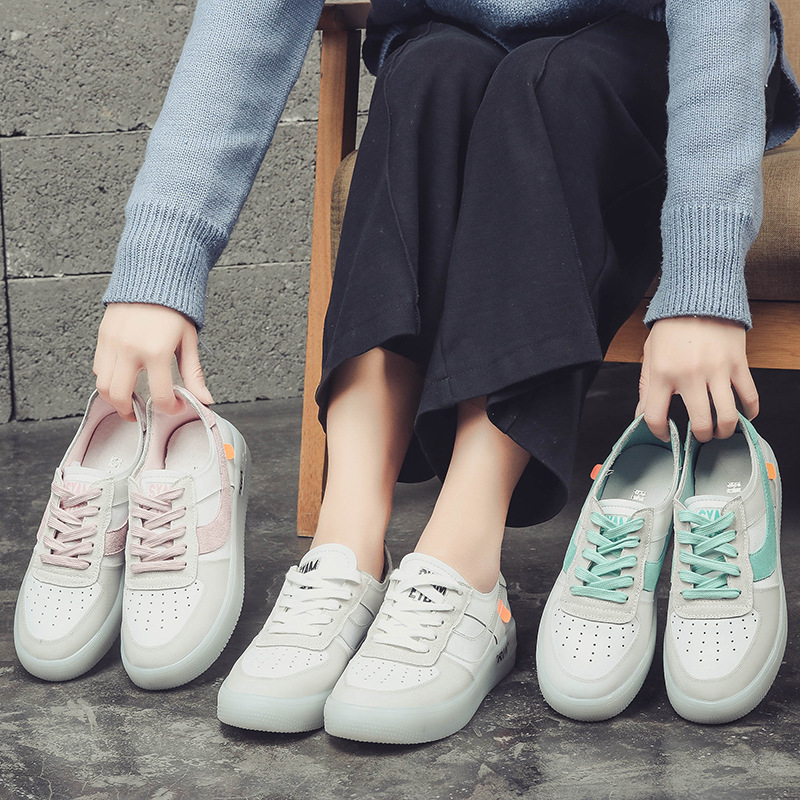 La Salvaje Las Crystal rosado 2018 Transparente Nueva Bottom Versión blanco Mujeres De Coreana Zapatos Verde q4wzAwvI