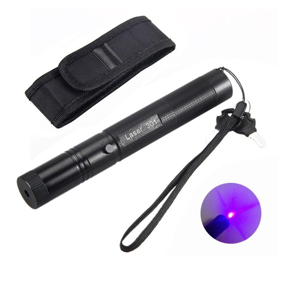 Violet Laser Pointeur Stylo 532nm Puissant Faisceau Visible Lumière Lazer Jouer En Plein Air Forte Lumière Visible PAS de Batterie