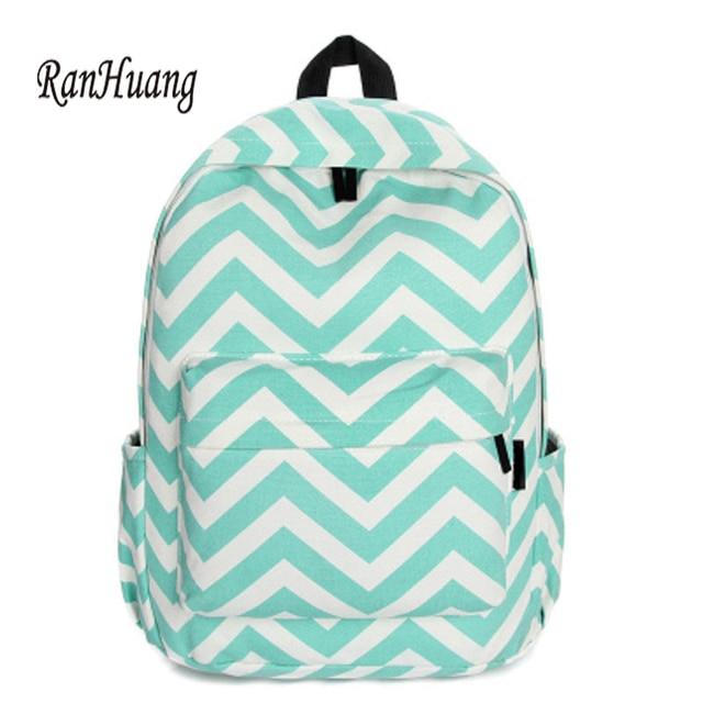 aca9b46623 RanHuang Women Casual Canvas Backpack Korean Backpack School Bags For  Teenagers Girls Black Blue Rucksacks mochila