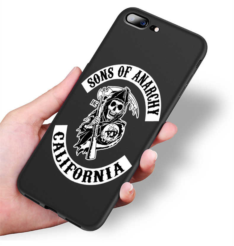 sons of anarchy iphone xs max case