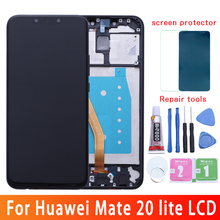 6.3For Huawei Mate 20 lite LCD screen display touch digitizer SNE-LX1 SNE-L21 SNE-LX3 SNE-LX2 L23 lcd for huawei mate 20 lite s lie sne