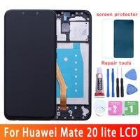 6.3 Original LCD For Huawei Mate 20 Lite Display Touch Screen Replacment For Huawei Mate 20 Lite Display Maimang 7 LCD SNE AL00