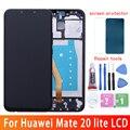 6,3 Original LCD para Huawei Mate 20 Lite pantalla táctil reemplazo para Huawei Mate 20 Lite pantalla Maimang 7 LCD SNE-AL00