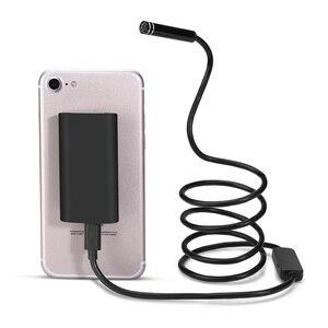 Image 5 - 1 10M Wifi Endoscope HD 720P 1.3MP 8mm Wifi Endoscope Iphone Android 720P Camera Endoscopic Android iOS Boroscope Camera