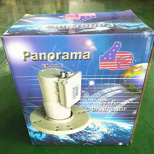 Easy Installation Super High Gain c band LNBF Input 3.4 to 4.2Ghz lnb c band waterproof For C band plate antenna