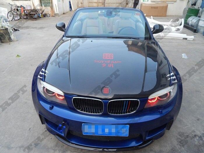11-12 BMW E82 1 Series & 1M Rz CFRP Hood (10)