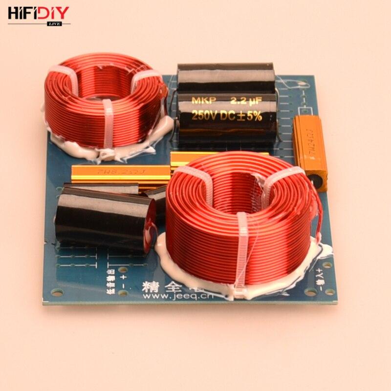 HIFIDIY enceintes Hi-Fi en direct diviseur de fréquence audio filtres croisés 2Way 2 haut-parleur tweeter + basse unité DIY-TL88