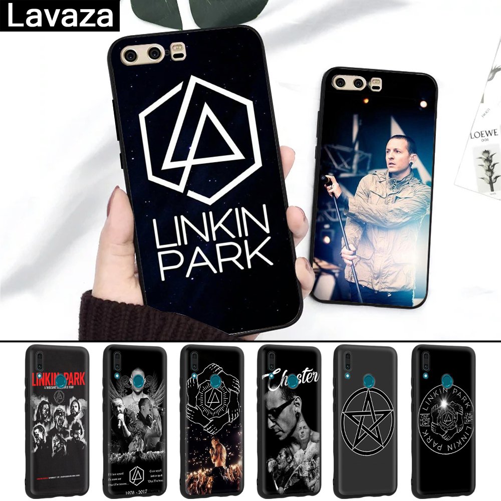 Lavaza Linkin Park Chester Silicone Case for Huawei P8 Lite 2015 2017 P9 2016 Mini P10 P20 Pro P Smart 2019 P30 in Fitted Cases from Cellphones Telecommunications