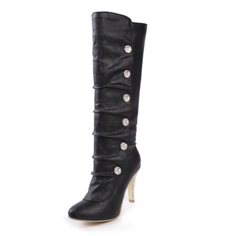 2019 New Fashion Winter Women boots Long boots Thin heels Party Fashion Casual White Black Red Knee boots2019 New Fashion Winter Women boots Long boots Thin heels Party Fashion Casual White Black Red Knee boots