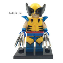 PG086 30Pcs Movie Super Heroes X-Man Figures Wolverine Daken Bricks Assemble Building Blocks Collection Toys for children Gift(China)