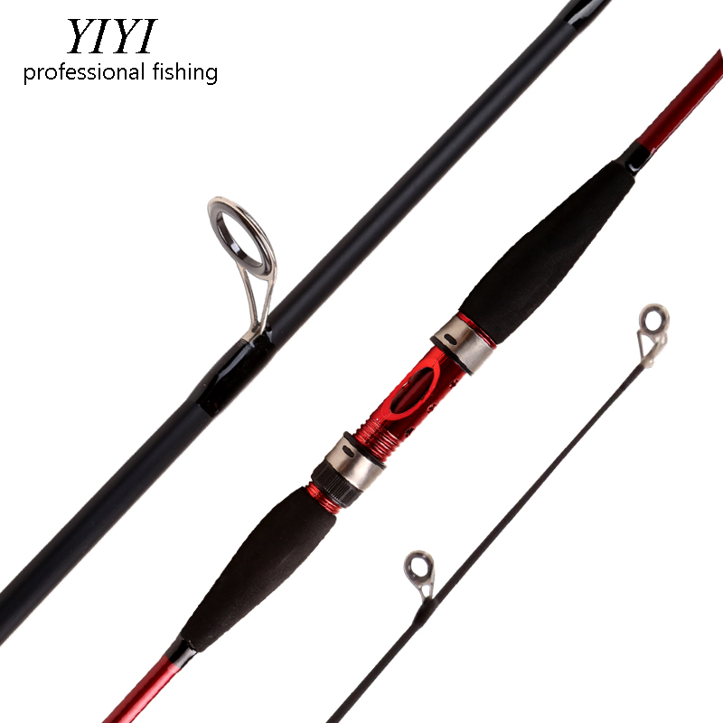 YIYI de cristal barato de pescar hilado M mano pesca señuelo Rod señuelo Peso: 3-21g Spinnng Leurre