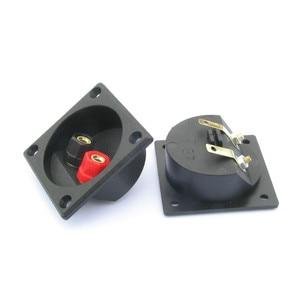 Image 2 - Aiyima 2pcs Speaker terminal box splicing fitting binding post panel diy accessories kit