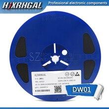 1Reel 3000pcs  DW01 DW01D DW01A SOT23 6 IC new and original hjxrhgal