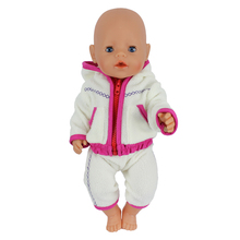 Doll Jump Suits Fit For 43cm Zapf Baby Doll Reborn Baby Dolls Clothes And 17 inch Doll Accessories