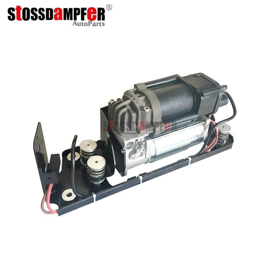 StOSSDaMPFeR New Air Suspension Air Compresor With Bracket Fit BMW F01 F02 F04 740i 750i 37206864215