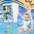 Aprender Inglês brinquedo Dos Desenhos Animados do telefone Móvel com a Canção Let It Go telefone Aprendizagem Brinquedos Educativos para crianças Brinquedo musical móvel