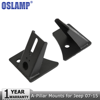 Oslamp A Pair Of A Pillar Mount Brackets Led Work Light Mounts Led Work Lamp Mounting