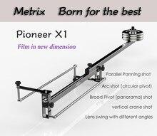 Профессиональный Портативный DV Алюминий ползунок фокус панорамной съемки мини-видео камеры Кран DSLR стрелы с сумка MAX загружен 10 кг