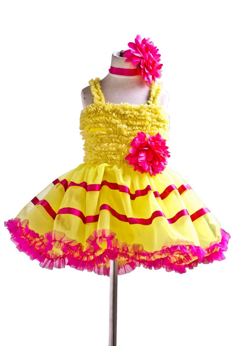 Žuti balet Profesionalni tutu Giselle Baletni kostimi Dame Klasični - Karnevalske kostime - Foto 1